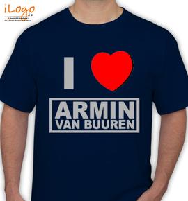 i-love-Armin-Van-Buuren - T-Shirt