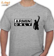 Armin van Buuren armin-only-grey T-Shirt