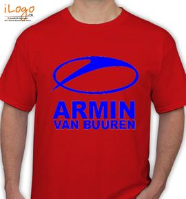 Armin-Van-Buuren-red - T-Shirt