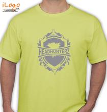 Headhunterz Headhunterz-yellow T-Shirt