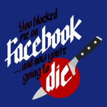 knife-party-facebook T-Shirt