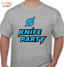 Knife Party knife-party-blue T-Shirt