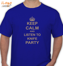 Knife Party knife-party-keep-calm T-Shirt