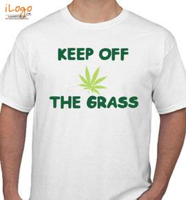 keep-off-the-grass- - T-Shirt