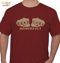 Angerfist angerfist-HARD-CORE T-Shirt