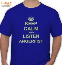Angerfist angerfist-keep-calm T-Shirt