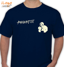 Angerfist angerfist-drawing T-Shirt