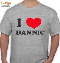 Dannic i-love-dannic T-Shirt