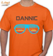 Dannic dannic-brille T-Shirt