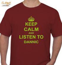 Dannic dannic-keep-calm T-Shirt
