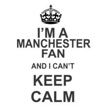 Football keep-calm-i-am-manchester-united-fan T-Shirt