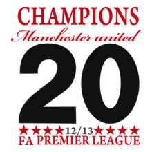 the-premer-league-manchester-united-champion-short-sleeve-t-shirt T-Shirt