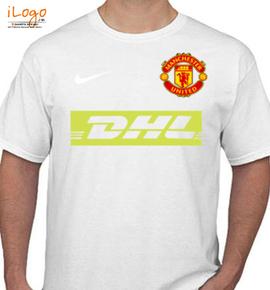manchester united dhl t shirt - T-Shirt