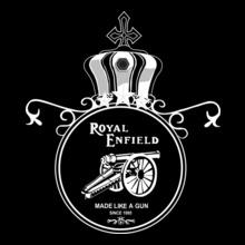 Biker Royal-Enfield-Designs T-Shirt