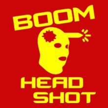 boom-head-shot T-Shirt