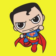 chibi-superman-flying-t-shirt T-Shirt