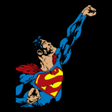 superman-t-shirt-design-for-comics-w-by-teemakers-ddzs-%% T-Shirt