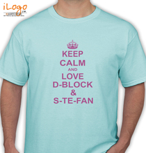 D Block and Stefan D-Block-and-S-Te-Fan- T-Shirt
