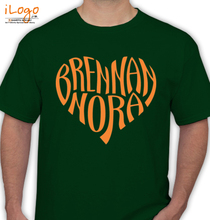 Brennan brennan-heart-nora T-Shirt