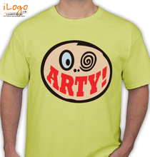 Arty arty-smile T-Shirt