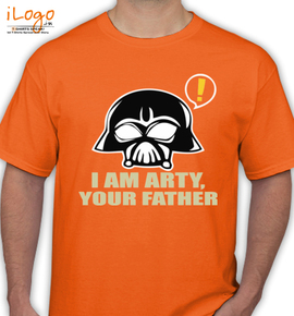 arty father - T-Shirt