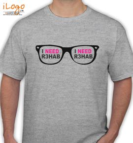 i need Rhab - T-Shirt