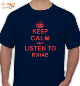 Rhab keep calm - T-Shirt