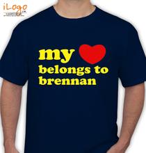 Brennan brennan-heart-love T-Shirt