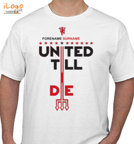 manchester united three t shirt - T-Shirt