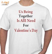 Valentine's Day us-being-valentine-day T-Shirt