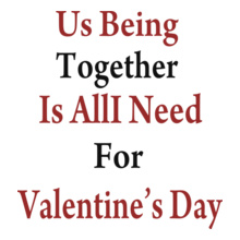 Valentine's Day us-being-valentine-day T-Shirt