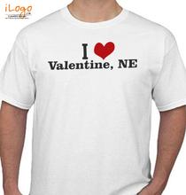 Valentine's Day i-love-valentine-ne T-Shirt