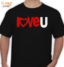 Valentine's Day love-u T-Shirt