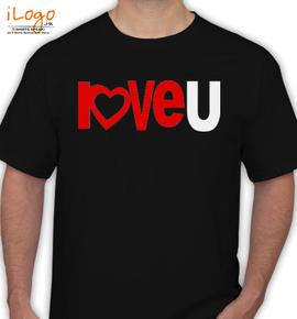 love u - T-Shirt