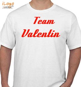 team valentine - T-Shirt