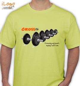 cross fit design - T-Shirt