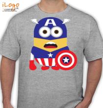 cpt-america-minion T-Shirt