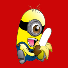 minion-with-banana T-Shirt