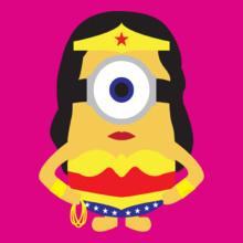 Minion super-woman-minion T-Shirt