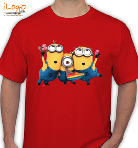 party time minion - T-Shirt