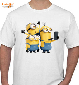 selfie minion - T-Shirt