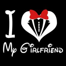 Couple i-love-my-boyfriend- T-Shirt