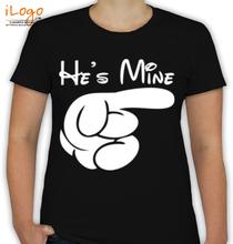 Couple she%s-mine- T-Shirt