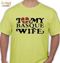 I-LOVE-MY-BASQUE-WIFE T-Shirt