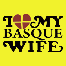 I-LOVE-MY-BASQUE-WIFE T-Shirt