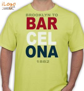 BROOKLYN TO BARCELONA - T-Shirt