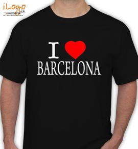 I LOVE BARCELONA - T-Shirt
