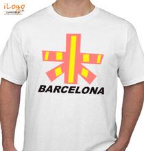 BARCELONA-FLAG T-Shirt