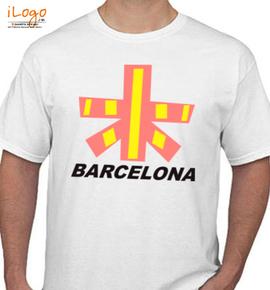 BARCELONA FLAG - T-Shirt