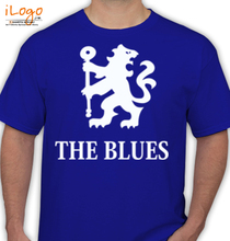 Football Chelsea-F-C-soccer-T-shirt-Blues-tee-camiseta T-Shirt